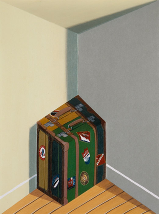 Baggage <p>2008 | Edition 35 | 42.5 x 34.5 x 17 cm / 16¾ x 13¾ x 6¾ in</p>