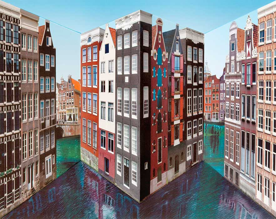 Amsterdam <p>2015 | Edition 50 | 45 x 53 x 16 cm / 17¾ x 20⅞ x 6¼ in</p>