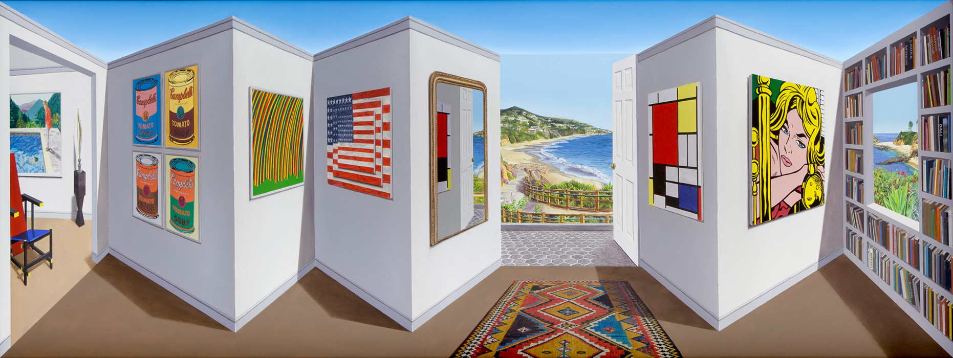 California Dreams <p>2016 | 42 x 132 x 18 cm / 16½ x 52 x 7⅛ in</p>