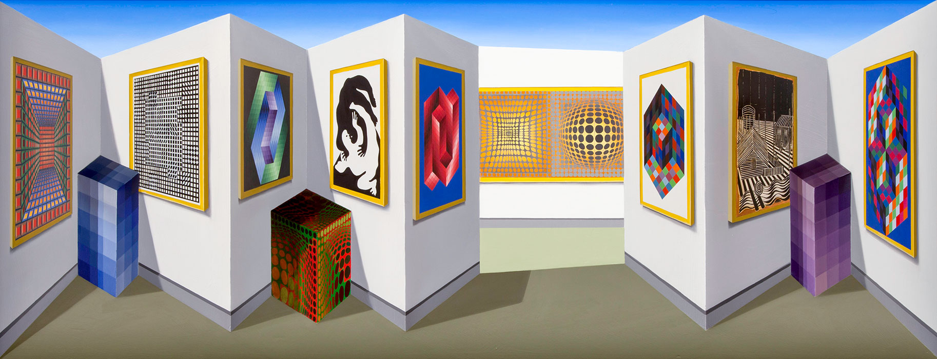Vasareally <p>2016 | 47 x 123 x 19 cm / 18½ x 48⅜ x 7½ in</p>