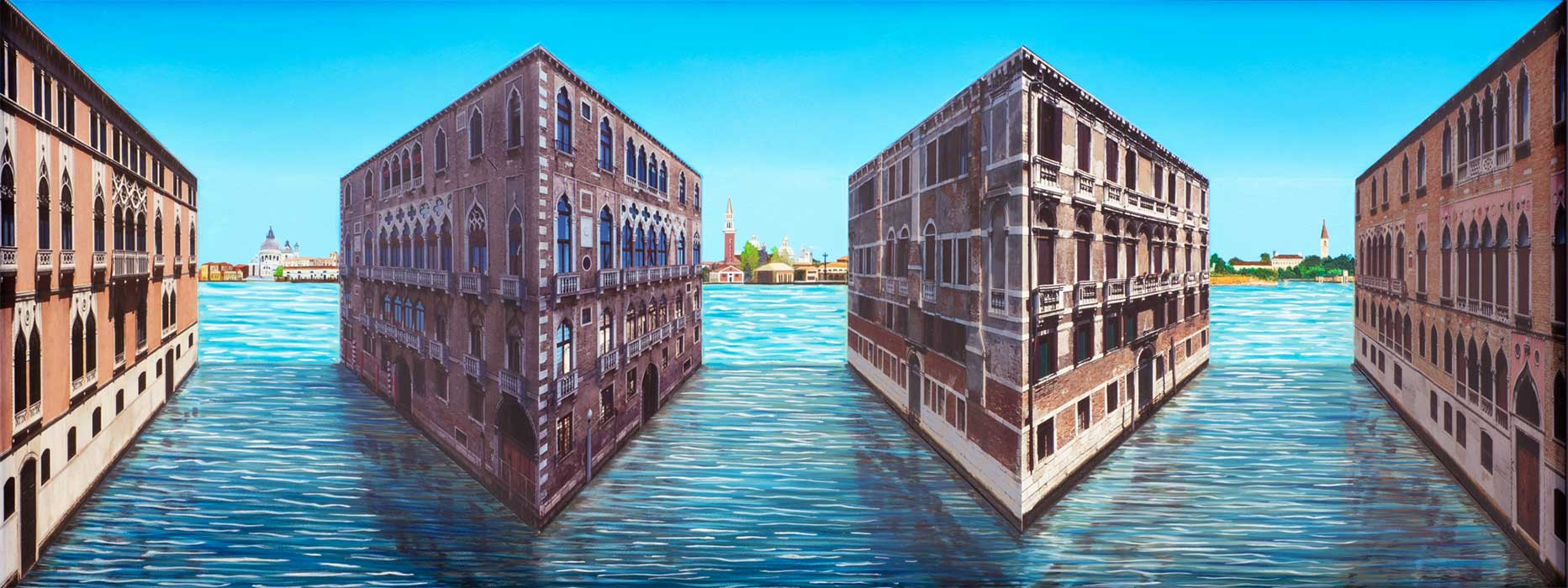 Venetia <p>2014 | Edition 5 | 58 X 119 X 16 cm / 23 x 46¾ x 6¼ in</p>