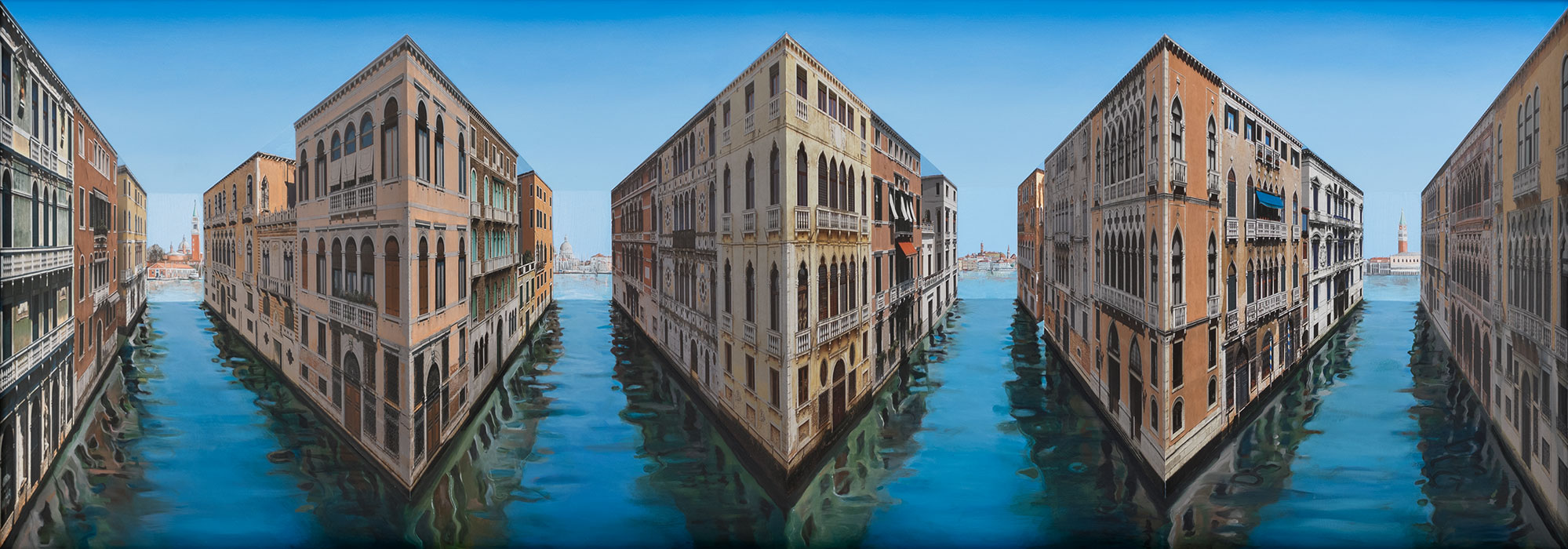 Vision of Venice <p>2018 | Edition 5 | 75.5 x 218 x 27.5 cm / 29 ¾ x 85 ⅞ x 10 ⅞ in</p>