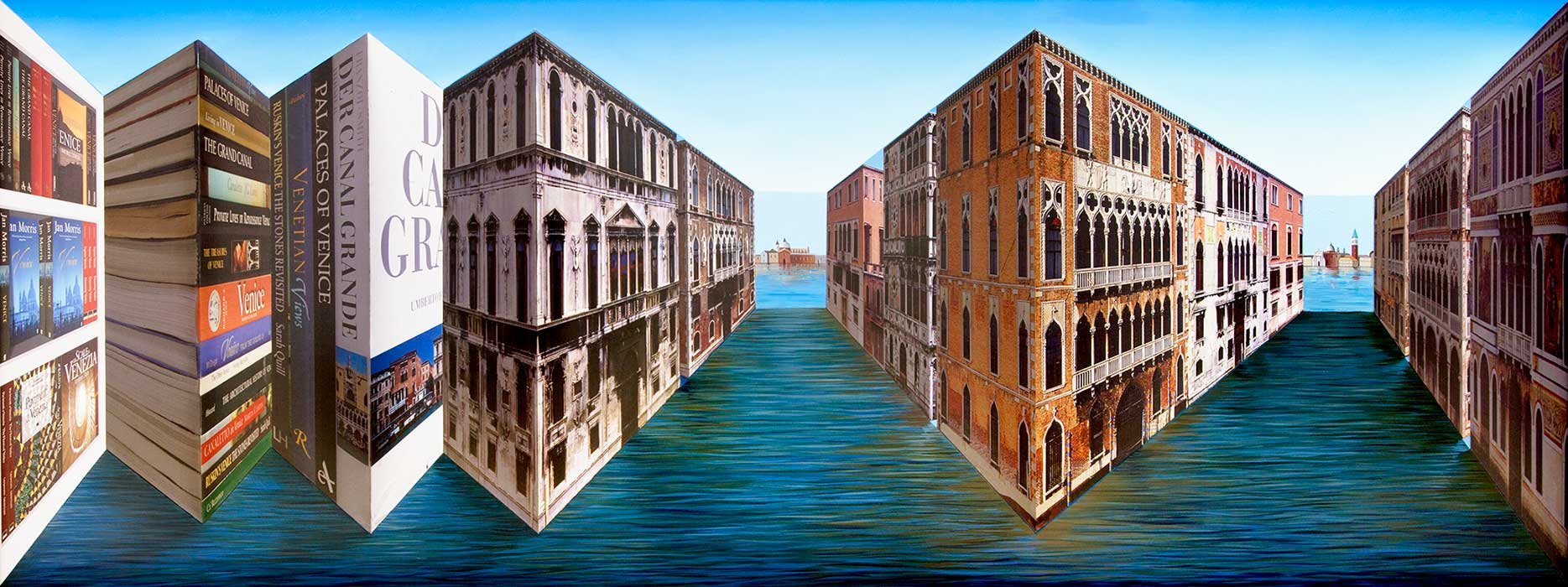 Books by Venice <p>2012 | Edition 5 | 81 X 192 X 28 cm / 32 x 75¾ x 11¼ in</p>