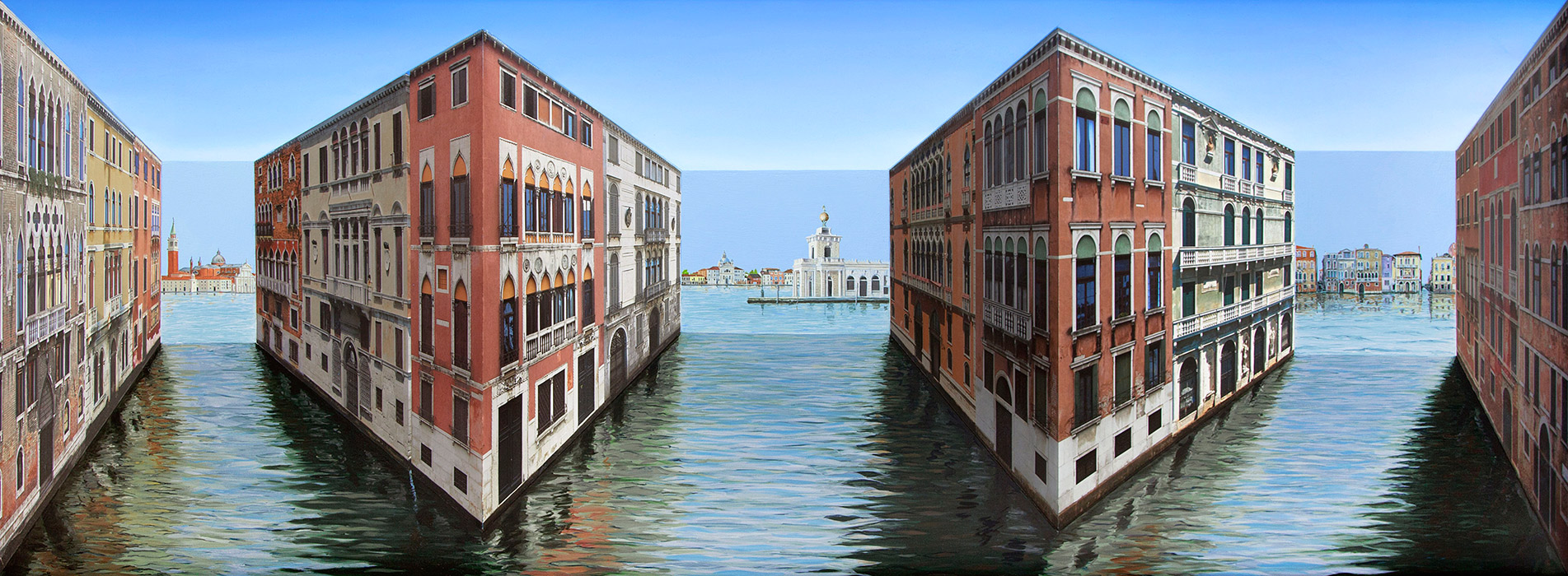 Various Venice <p>2016 | Edition 5 | 58 x 157 x 20 cm / 22⅞ x 61¾ x 7⅞ in</p>