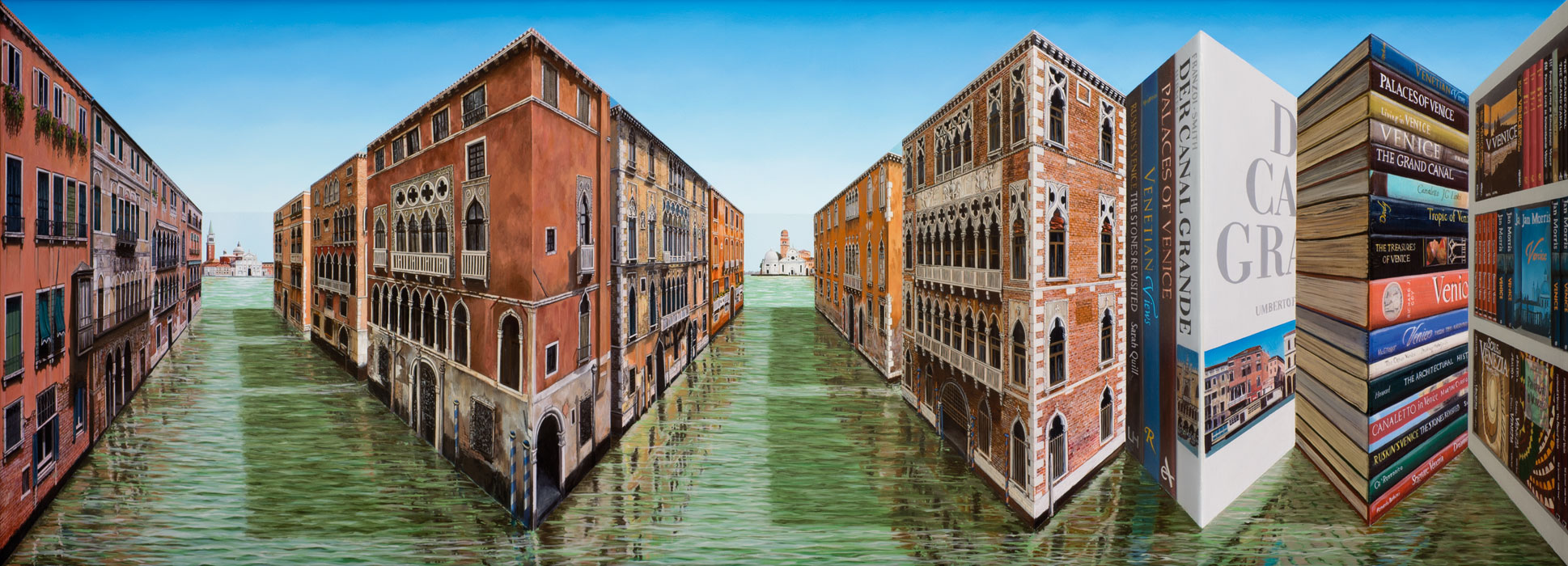 Venice Viewing <p>2013 | 59 x 152 x 28 cm / 23¼ x 60 x 11¼ in</p>