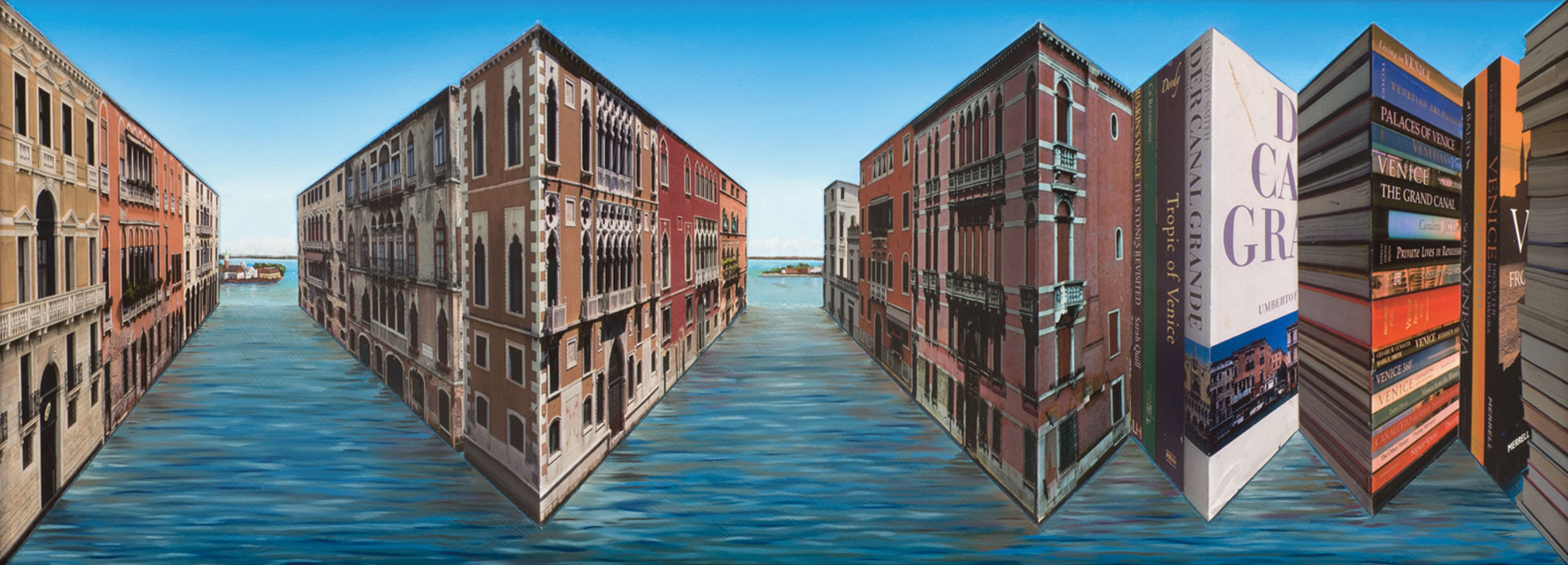 Venice Volumes <p>2013 | Edition 4 | 47 X 94 X 12 cm / 18½ x 37 x 4¾ in</p>