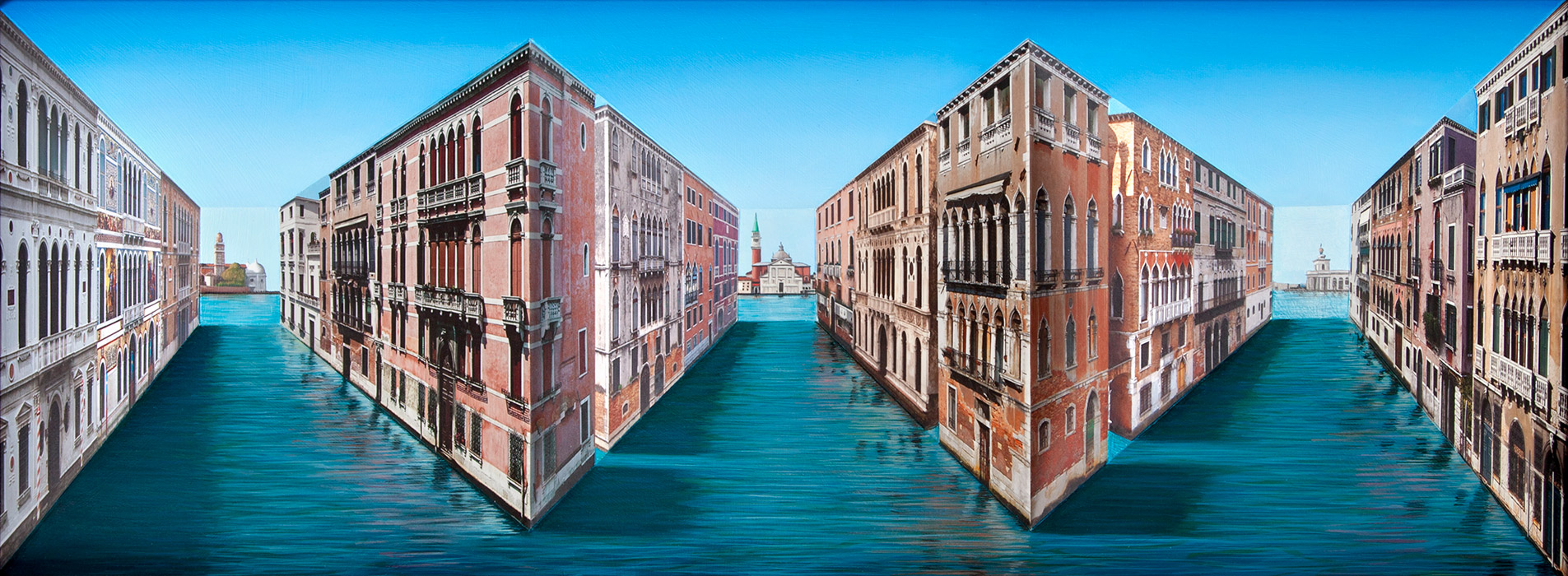 Via Venezia <p>2015 | Edition 5 | 46 x 94.5 x 13.5 cm / 18 x 37 x 5 in</p>